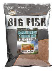 BIG FISH MARINE HALIBUT & HEMP GROUNDBAIT (AMORCE)
